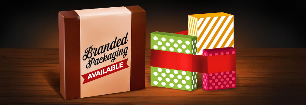Branded Packaging Available