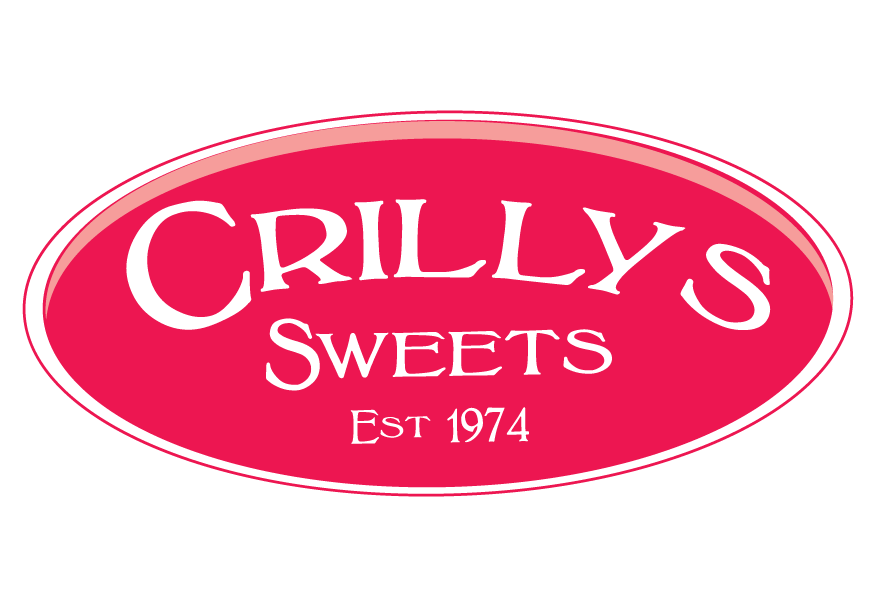 Crilly's Sweets Est 1974 Brand Logo
