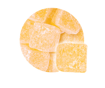 Crilly's Sweets Pineapple Cubes Bulk Wholesale